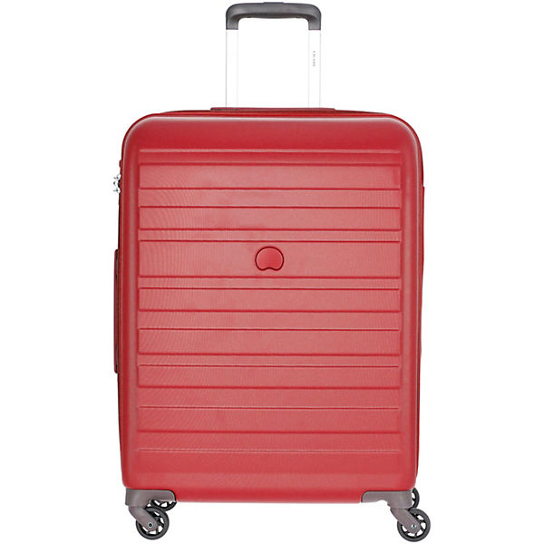 Delsey Peric 66 rollen Cm 4 Rot trolley ZuXPki