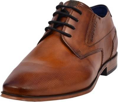 bugatti, Business Schuhe, cognac