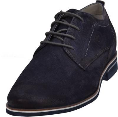 bugatti, Business Schuhe, dunkelblau