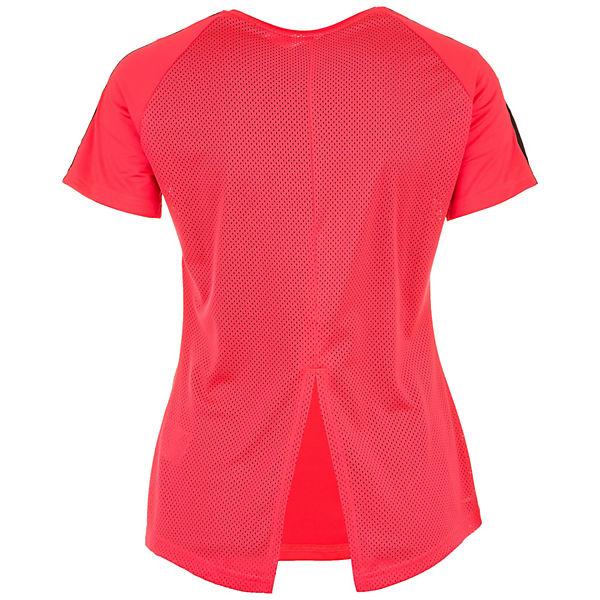 Rot T Damen Adidas Performance shirt Design2move EHW29YDIe