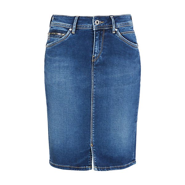 Pepe Rock Bleistiftröcke Taylor Denim Blue Jeans ZuOkiPX