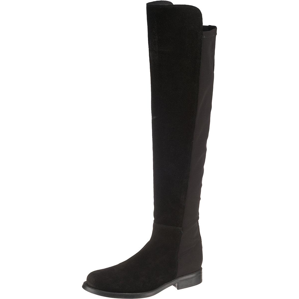 JOLANA & FENENA, JOHN Overknee-Stiefel, schwarz  Gute Qualität beliebte Schuhe