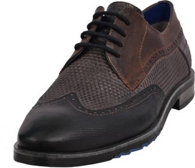 bugatti Herren Business Schuhe Braun, Schuhgröße:EUR 47