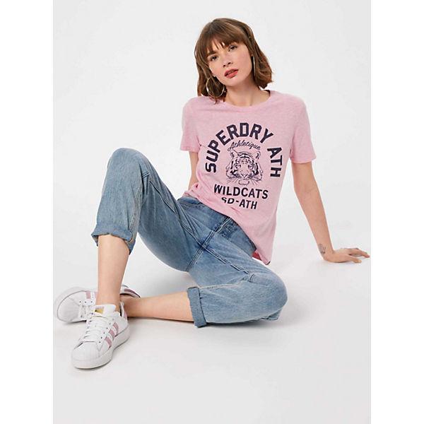shirts Tee T Rosa Entry Superdry Shirt Mascot VpzSqUMG