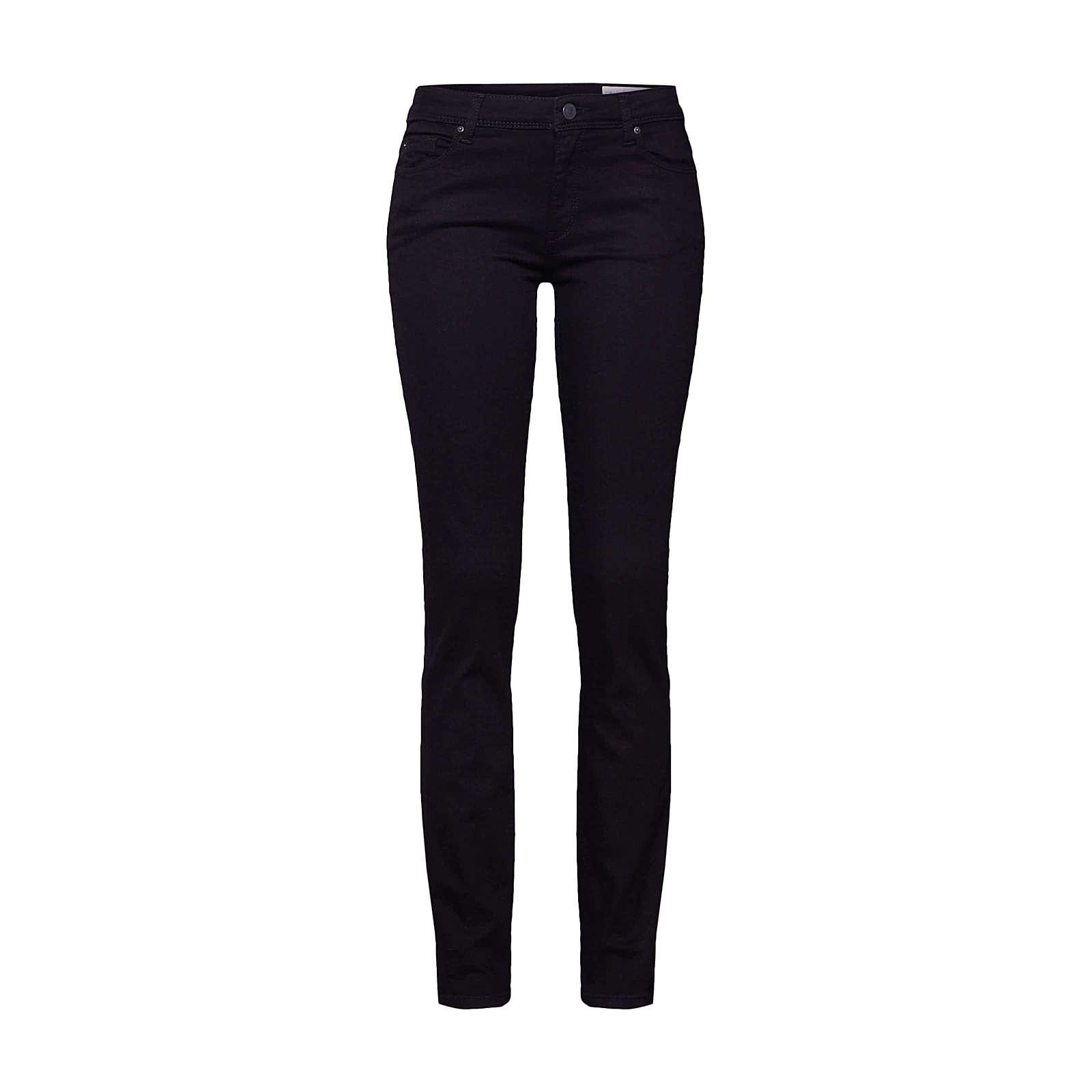 ESPRIT Jeans OCS MR Straight Jeanshosen schwarz Damen Gr. W28/L30