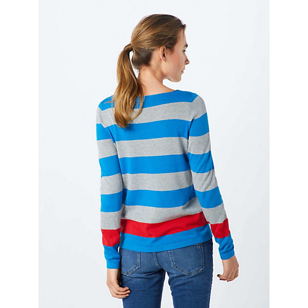 Label Blau Red Pullover oliver S PiOTZukX