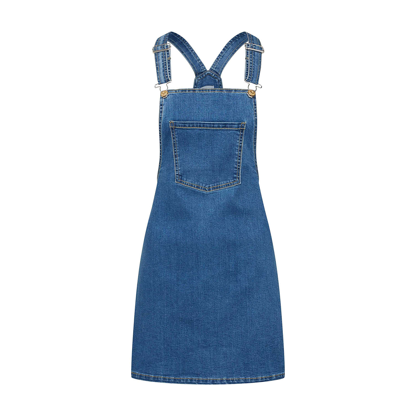 ONLY Kleid Jeanskleider blue denim Damen Gr. 36