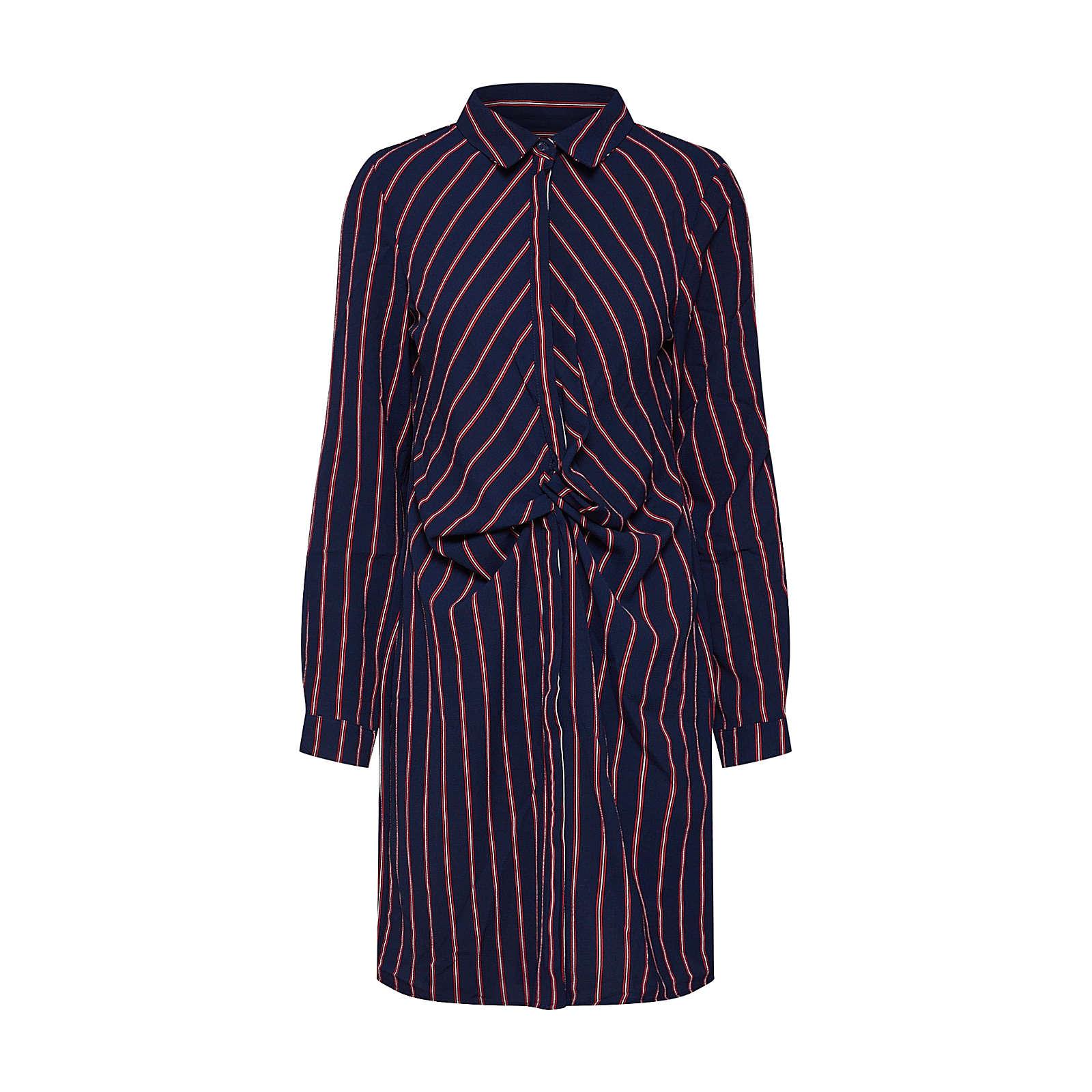 OBJECT Blusenkleid LEONIE Blusenkleider hellrot Damen Gr. 36