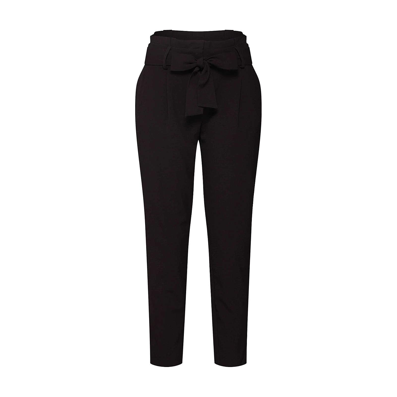 ONLY Bundfaltenhose FINI Stoffhosen schwarz Damen Gr. 36