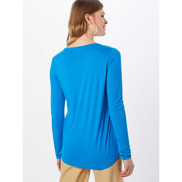 Shirt S Red oliver Mehrfarbig Langarmshirts Label hQdtxsrC