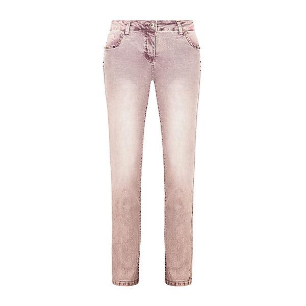 Damen Victoria Jeans Skinny Lila Million X Women Rivets Jeanshosen 8PXn0wOk