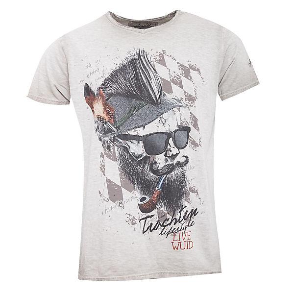 Hangowear Hangowear T Trachtenshirt Beige shirts MzpVSU