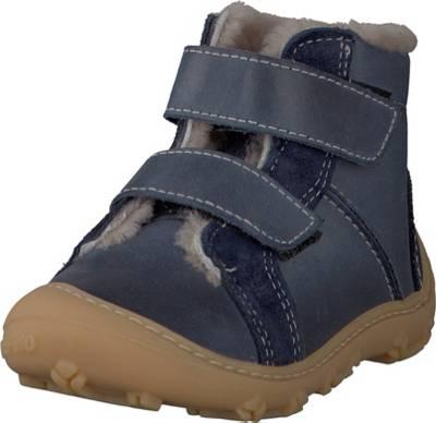 Däumling Stiefel Jungen braun Lauflern Stiefel Nubukleder