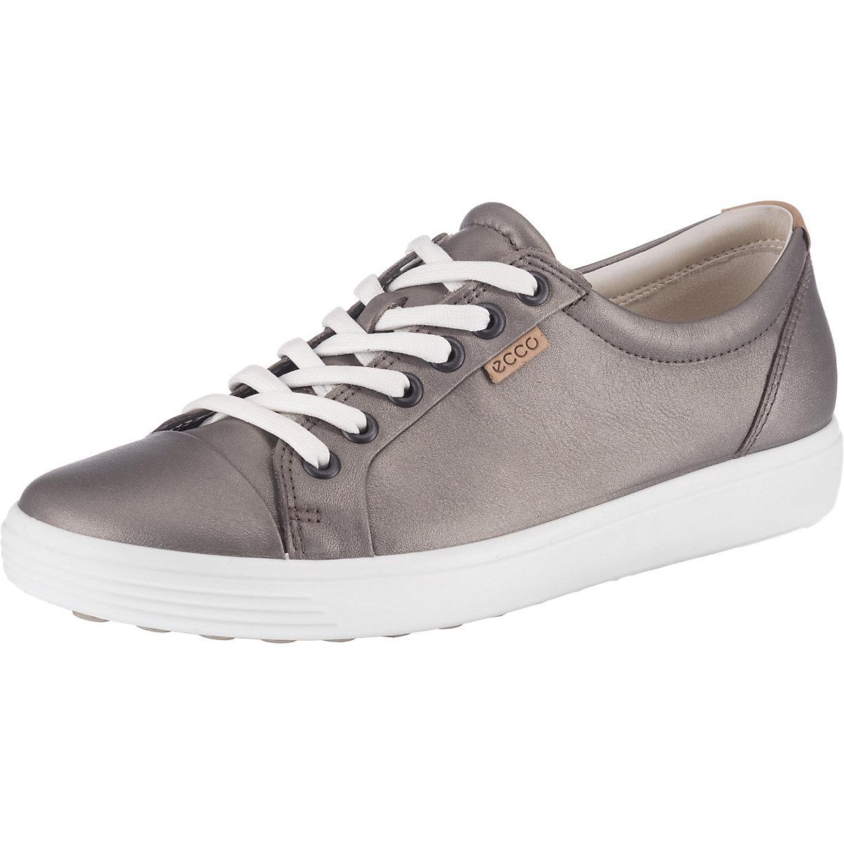 Ecco, ECCO SOFT 7 W Turnschuhe Low, grau  Gute Qualität beliebte Schuhe
