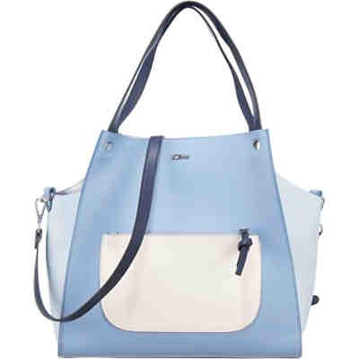 ac25463f98372 Shopper in blau günstig kaufen