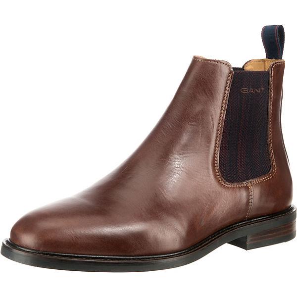 Beste Wahl GANT Ricardo Chelsea Boots dunkelbraun