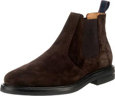GANT, Fargo Chelsea Boots, dunkelbraun