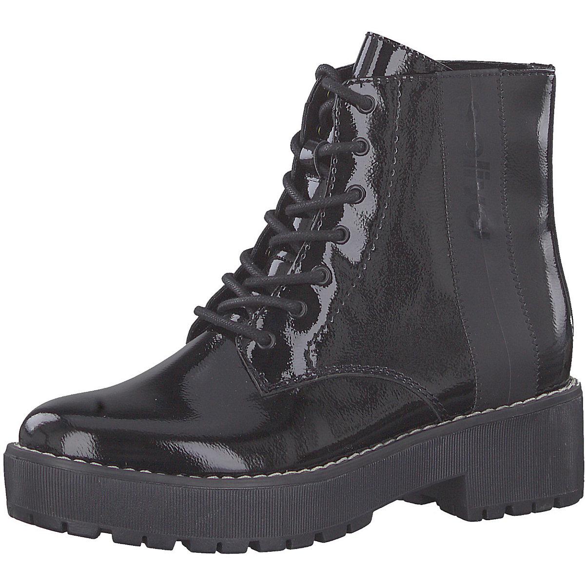 S.Oliver, Schnürstiefeletten, schwarz  Gute Qualität beliebte Schuhe