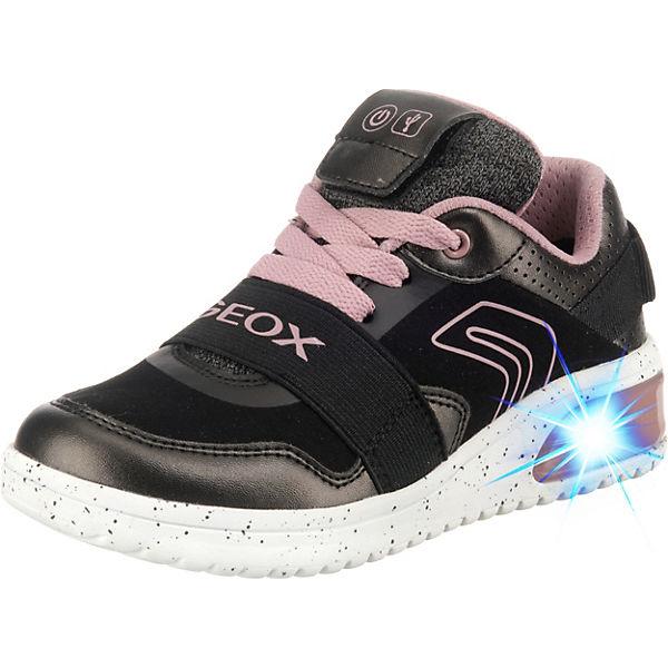 watch 6ef14 06d90 GEOX, Sneakers High für Mädchen mit LED Sohle, schwarz