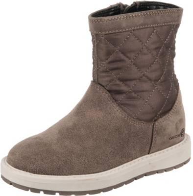 Geox Stiefelette grau Damen Schuhe Stiefel