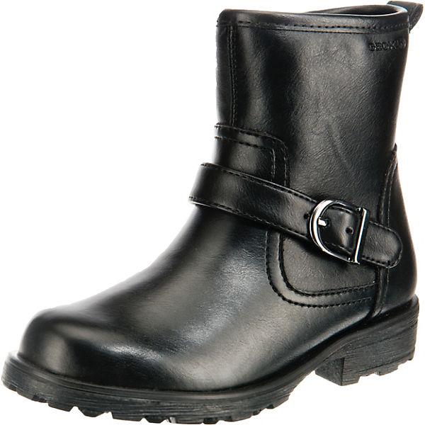 buy online fcf17 445bd GEOX, Stiefel OLIVIA STIVALI für Mädchen, warmfutter, schwarz