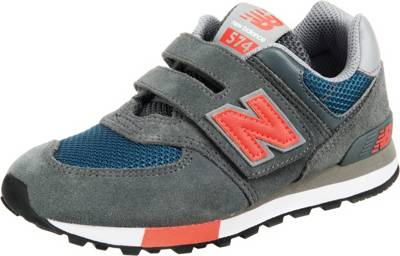 new balance, Kinder Sneakers Low, grau