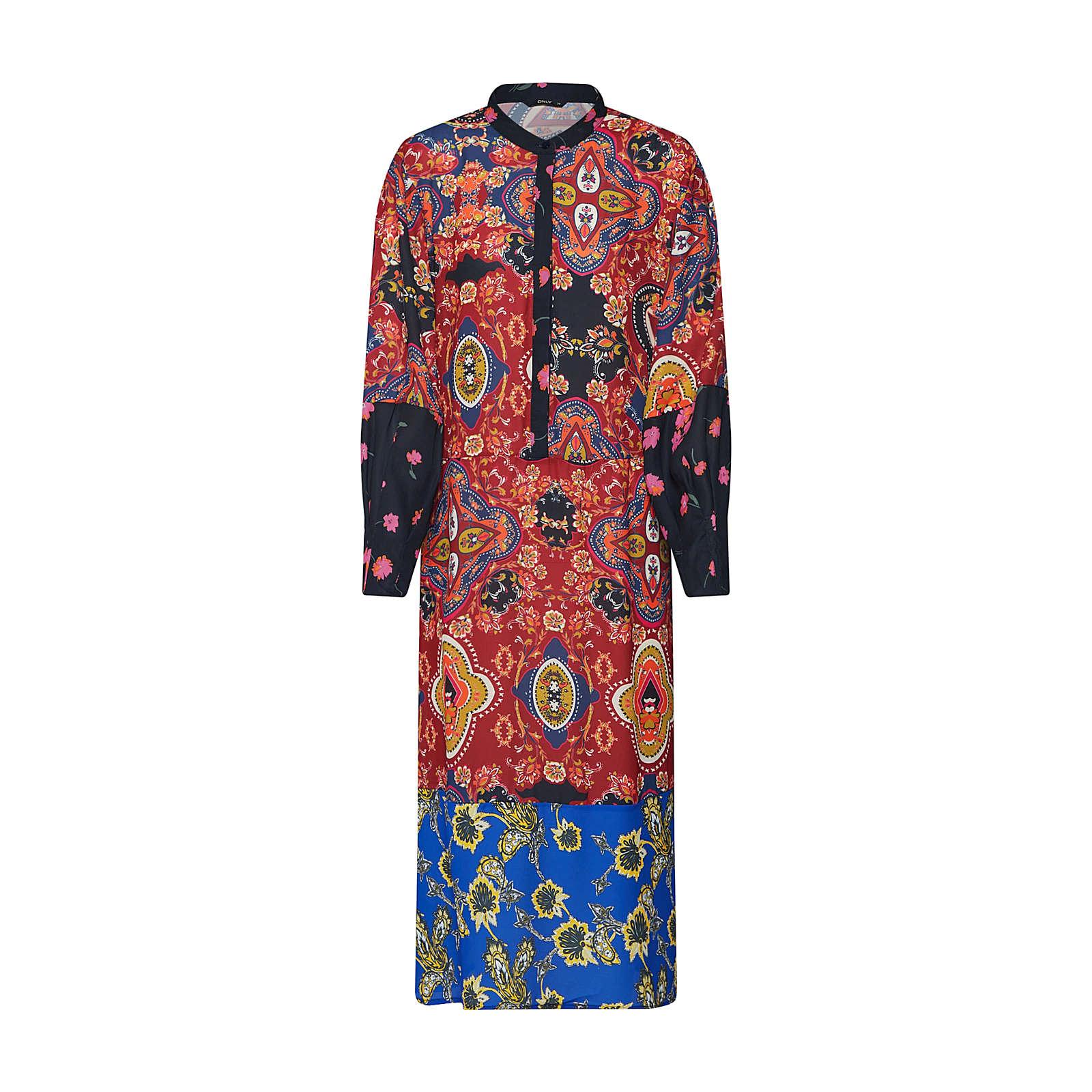 ONLY Blusenkleid TALIA Blusenkleider schwarz Damen Gr. 42