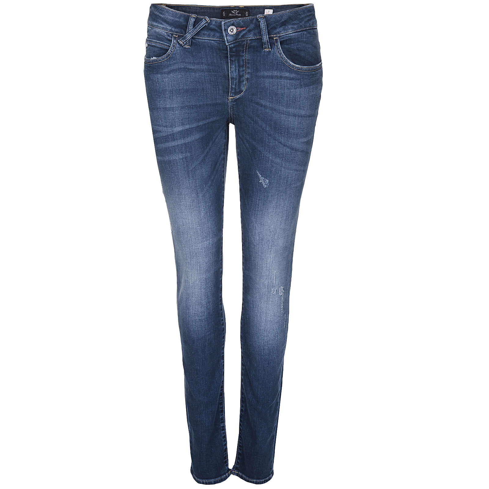 Fritzi aus Preußen JEANS HOSE INDIANA STRAIGHT LEG Jeanshosen blau Damen Gr. 32/L30