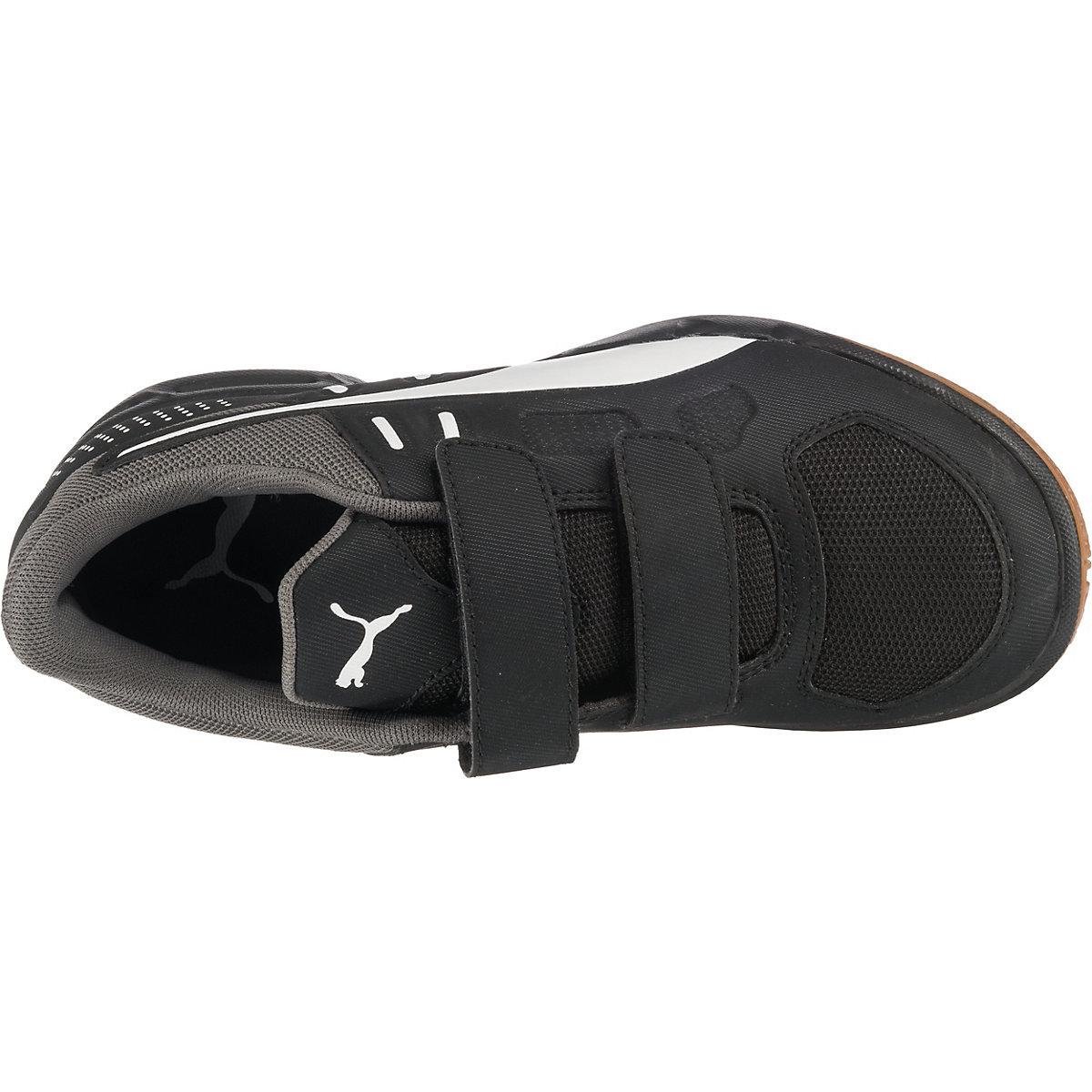 Puma, Sportschuhe Auriz V Für Jungen, Schwarz/weiß