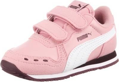 PUMA, Baby Sneakers Low CABANA RACER SL V für Mädchen, rosa