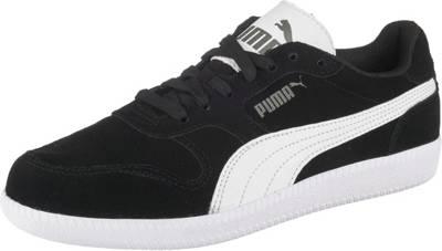 PUMA, Sneakers Icra Trainer SD Jr für Jungen, schwarzweiß