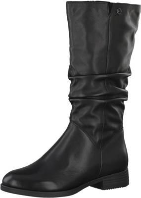 Tamaris, Slouch Stiefel, schwarz Gute Qualität beliebte