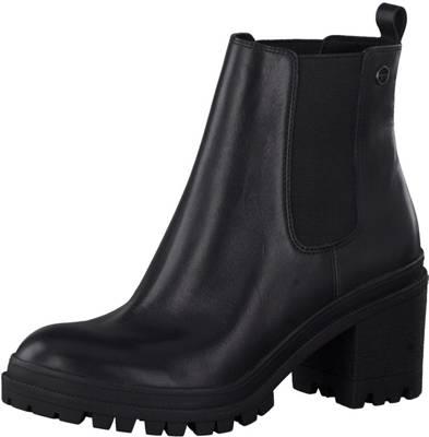Tamaris, Chelsea Boots, schwarz