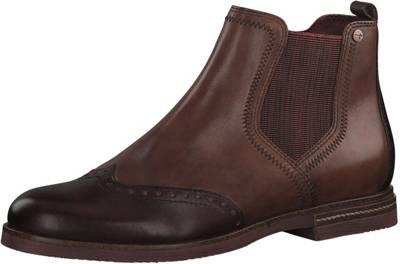 Tamaris, Chelsea Boots, cognac