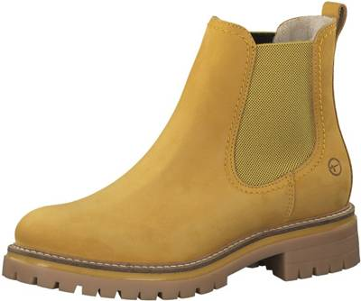 Tamaris, Chelsea Boots, gelb
