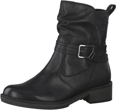 STEVE MADDEN, Gain Biker Boots, schwarz