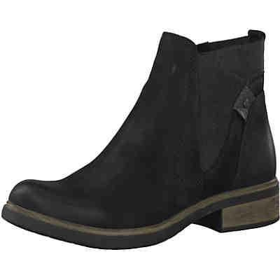 half off 77320 4a757 Tamaris, Chelsea Boots, dunkelblau