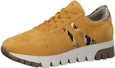 Tamaris, Sneakers Low, gelb