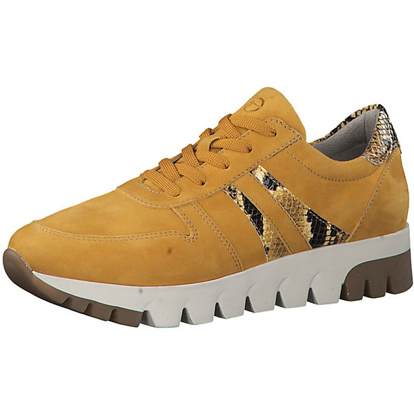 separation shoes new high hot new products Tamaris, Sneakers Low, gelb