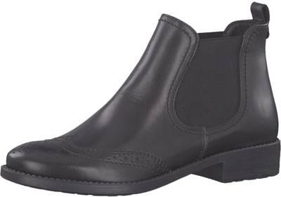 Qualität Gute schwarz Chelsea Tamaris, beliebte Stiefel