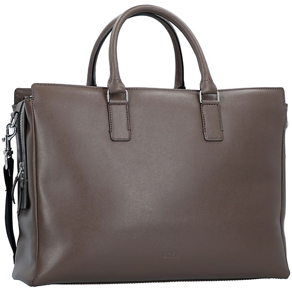 5 Bree Laptopfach Aktentasche 40 Cm Leder Chicago Braun f6g7by