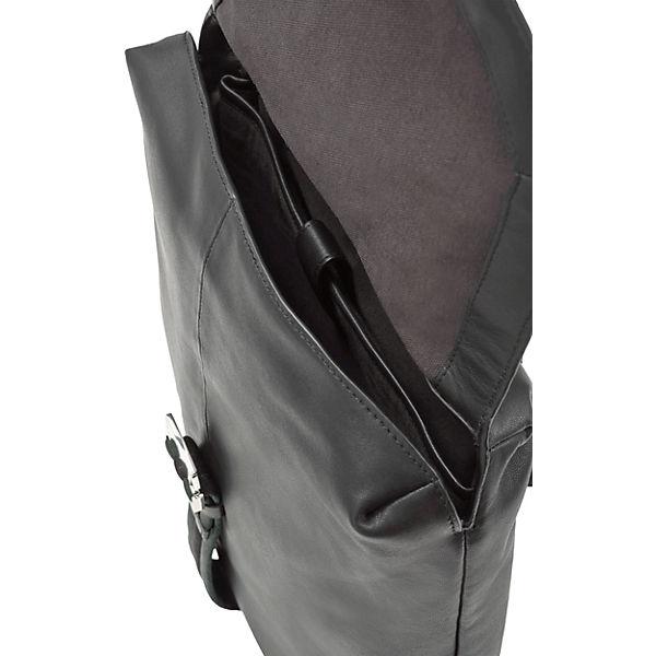 Berlin Soft Freizeitrucksäcke Medium Schwarz Liebeskind Messengerbackpack f6g7yb
