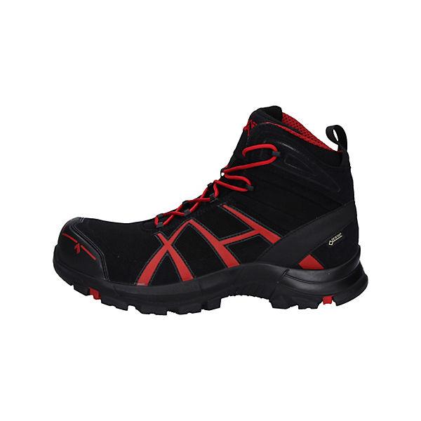 Sicherheitsschuhe Haix® Sicherheitshalbschuhe 40 Black Eagle Schwarz Haix Safety rot red Black Mid m0wN8n