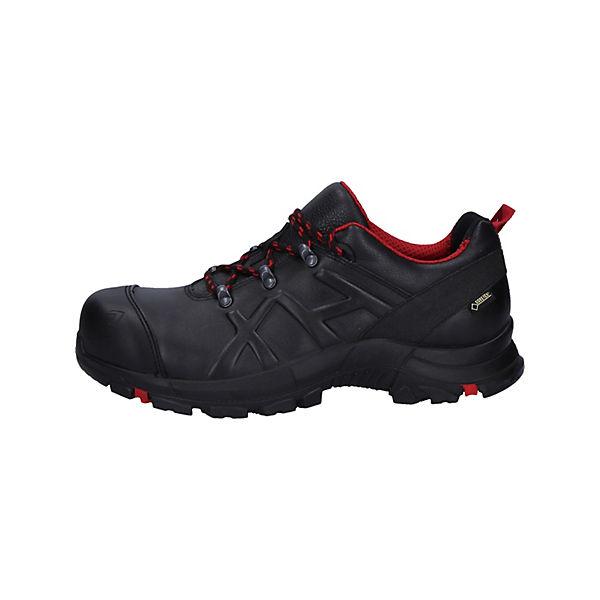 Mid Eagle Haix® 54 red Sicherheitsschuhe Black Safety Schwarz rot Black dCxoBe