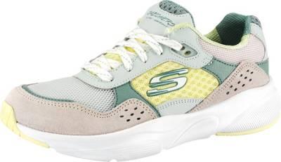 SKECHERS, Meridian Charted Sneakers Low, grün