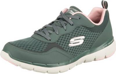 SKECHERS, Flex Appeal 3.0 Go Forward Sneakers Low, grün