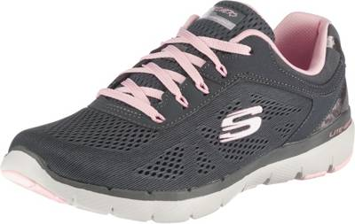 Bobs From Skechers Plush Lite Peek Taupe Mokassins Damen