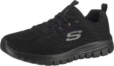 SKECHERS, Graceful Get Connected Sneakers Low, schwarz