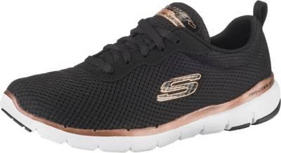 SKECHERS, Flex Appeal 3.0 First Insight Sneakers Low, schwarz