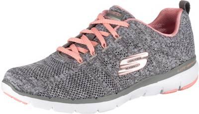 SKECHERS, FLEX APPEAL 3.0 INSIDERS Sneakers Low, grau | mirapodo tiVUP